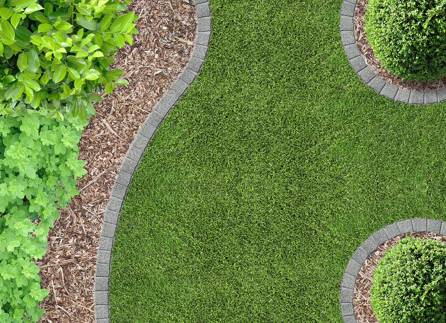landscape edging olympic lawn landscape inc